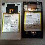 Замена батареи в планшете