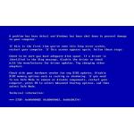 При запуске операционной системы вылетает синий экран